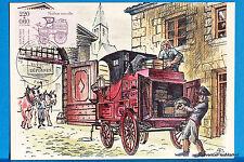 Yt Has 2526 CAR MONTEE FRANCE CARD MAXIMUM 1° DAY FCP