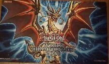 YU-GI-OH ! PLAYMAT TAPIS DE JEU WORLD SHAMIONSHIP CELEBRATION 2018
