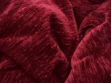1 SUPER Thermo Winter Chenille Vorhang Gardine weinrot EXTRABREIT  B/H 170 x 245