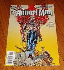 2011 Animal Man #1 1st Print DC New 52 Jeff Lemire