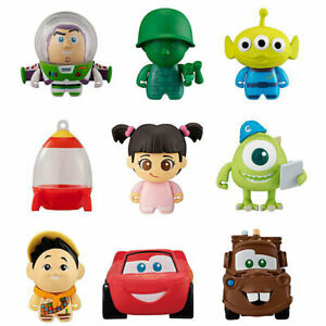 Disney Pixar ColleChara Mini Figure Collection Toy Story Up Cars Monsters Inc