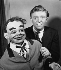 OLD TV RADIO PHOTO Ventriloquist Dennis Spicer & his puppet 2