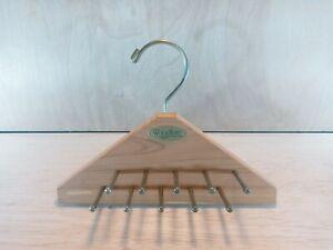 WOODLORE Tie Belt Rack Hanger Holder 20 Pegs Cedar Wood Closet Organizer