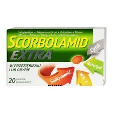 Scorbolamid Extra, tabletki powlekane, 20 szt.