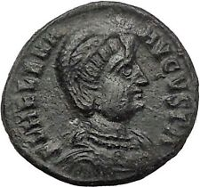 Helena ' Saint ' Constantine the Great Mother  Ancient Coin Security Cult i55537