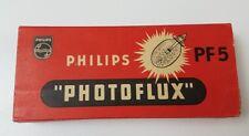 Philips Photoflux Flash Bulbs PF5 Class M