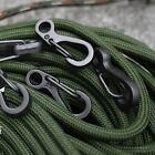 10PCS Mini Carabiner Clip Snap Spring Clasp Hook Keyring Camping Karabiner Tool