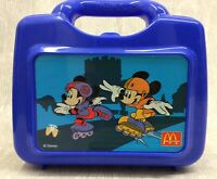 Vintage Thermos Lunch Box Mickey Minnie Mouse Disney RARE McDonalds Collectable