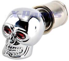 Zigarettenanzünder Totenkopf Skull universal Chrom Edel