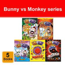 Jamie Smart Bunny vs Monkey series 1-5 books collection Set Phoenix Presents NEW