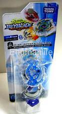 Original Takara Tomy Beyblade Burst B-06 Booster Ragnaruk Central Accel Blue
