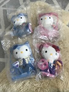 2000 McDonald's Hello Kitty & Dear Daniel Lot Of 4 Brand New!