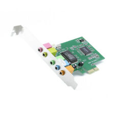 PCI-E PCI Express Sound Card 5.1 Surround Digital Audio 6 Channel For Desktop