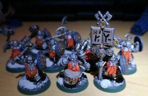 Warhammer Ironbreakers x10 Dwarfs Cities of Sigmar (Painted)