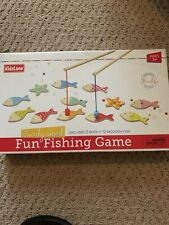 Kidzlane Magnetic Fishing Game for Kids | Easy Catch Magnet Rods New in box