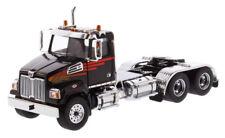 1/50 Western Star 4700 SF Tandem Day Cab in Metallic Black