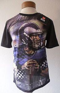 NWT Russell Wilson Seattle Seahawks Boys Youth Vapor Tech T-Shirt Black RARE