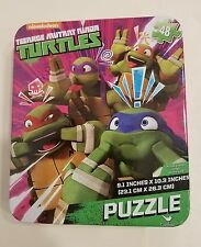 Nickelodeon TMNT Teenage Mutant Ninja Turtles 48 Piece Puzzle w/Collectors Tin
