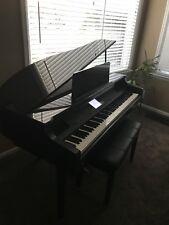 Baby Grand Piano Yamaha Clavinova w/ Bench, Ebony