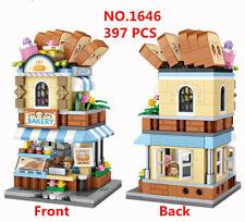 397 pcs LOZ MINI Blocks Kids Building Toys Girls Puzzle Bakery 1646