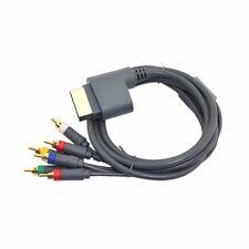 3rd partido Microsoft Xbox 360 Consola HD Componente 6 RCA Cable Av