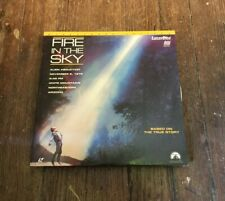 RARE LASERDISC fire in the sky ALIEN ABDUCTION widescreen VG+