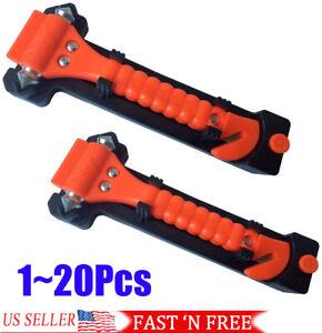 Emergency Escape Tool Auto Car Window Glass Hammer Breaker and Seat Belt Cutter