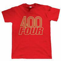 400 Four, Mens Classic Biker T-Shirt - Motorbikes Gift Him Dad