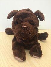 "Furreal Friends Newborn Puppy Chocolate Labrador 8"" 2003 #70189"