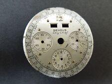 ORIGINAL BENRUS SKY CHIEF  VALJOUX 72C CALANDER CHRONOGRAPH DIAL ONLY