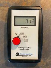 Ac Gaussmeter Magnetic Flux Magnetometer Tesla Meter