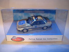 WHITE ROSE COLLECTIBLES FORD MUSTANG 5.0 POLICE CAR - GOLD PLATED 1/43 - MIB