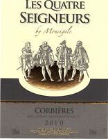 Tag wine - CORBIERES - The four lords by Moncigale - 2010