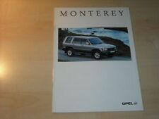 21746) Opel Monterey Prospekt 1995