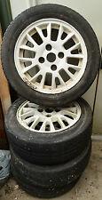 Mitsubishi Spacestar 1998-2005 .4 Alloy Wheels 195/55 R5 4 stud 114.3 mm +3 tyre