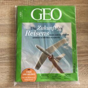 GEO Magazin 07/2021 Juli 2021 + Kalender & Card # Die Zukunft des Reisens