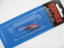 """Rapala W3-CHR 1-1/2"""" W3 Chrome Red Jigging Rap Size 03 Fishing Lure"""