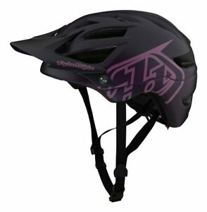 Troy Lee Designs A1 Drone MTB Helm Halbschale schwarz pink