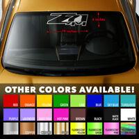 Z71 4X4 Windshield Banner Vinyl Decal Sticker 19x6 for CHEVY CHEVROLET SILVERADO