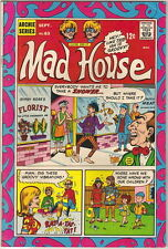 Archie's Madhouse Comic Book #63 Sabrina Story, Archie 1968 Fine+