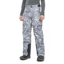 Obermeyer Men Ballistic Ski Pants Waterproof  Insulated Marble XL