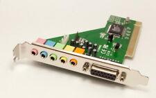 6 Ch PCI Sound Card 5.1 Surround Audio For Desktop PC