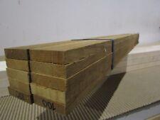"Teak Decking Boards (10-PCS) 54"" x 2"" x 1/2"" Marine Quality Burmese Teak VG RGH."