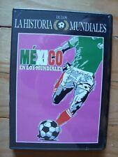 FIFA WORLD CUP MEXICO´S TEAM DVD MEXICO EN LOS MUNDIALES DVD SELECCION NACIONAL
