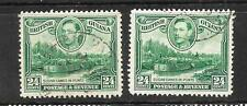BRITISH GUIANA  1938-52  24c  PICTORIAL  FU BOTH WMKS  SG 312/a