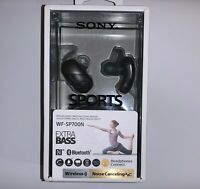 Sony WF-SP700N Extra Bass Noise Cancelling True Wireless Bluetooth Earbuds NEW