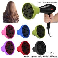 Travel Size Hairdressing Curly Hair Forming Blower Hood Hair Dryer Diffuser