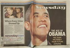 FREE NEWSDAY 11 06 08 President Obama Collector Sold Out Issue THE AGE OF OBAMA