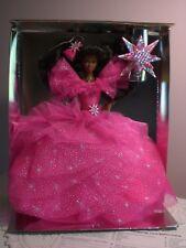 Mattel - Barbie - 1990 Happy Holidays Black Barbie