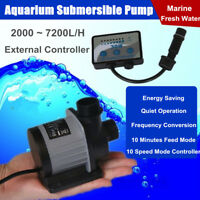 DCS 2000-7000 Aquarium Fish Tank Water Submersible Pump Marine DC Return Pump